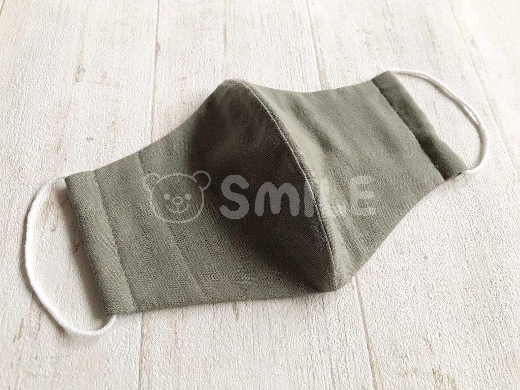男性 立体 マスク 用 型紙